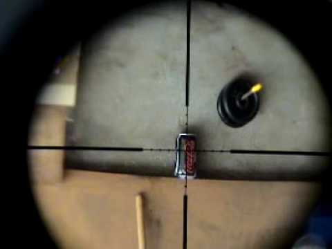Home made .22 PCP air rifle spud gun.wmv