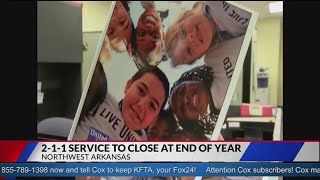 United Way of NWA to Discontinue 2-1-1 Service