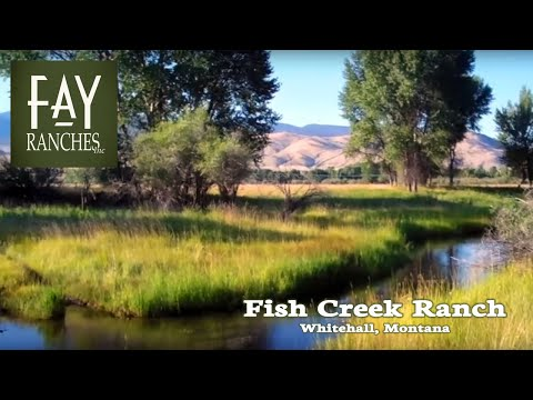 Fish Creek Ranch - Montana Fly Fishing Ranches For Sale Whitehall, MT