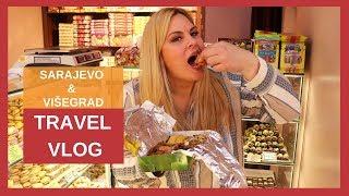 Evo kako izgleda danas Sarajevo! Ćevapi, slatkiši, tucana kafa... 🌍Sarajevo & Višegrad travel vlog
