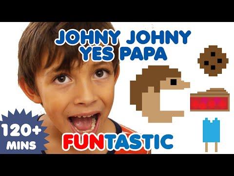 Johny Johny Yes Papa    Nursery Rhymes   Kids Songs   FUNtastic TV