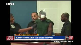 Accused Orlando cop killer, Markeith Loyd first court appearance