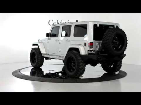 "Jeep Wrangler Unlimited Interior >> 2012 JEEP WRANGLER UNLIMITED SAHARA 4X4 SILVER/BLK 4"" LIFT ..."