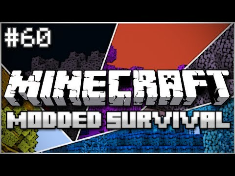 Minecraft: Modded Survival Let's Play Ep. 60 - The Trees Live! - Smashpipe Games Video