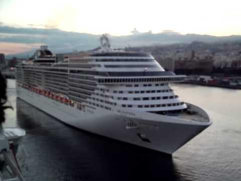 Cruise Ship Horn Battle Youtube