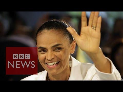 Brazil election: Marina Silva's Amazon jungle upbringing - BBC News