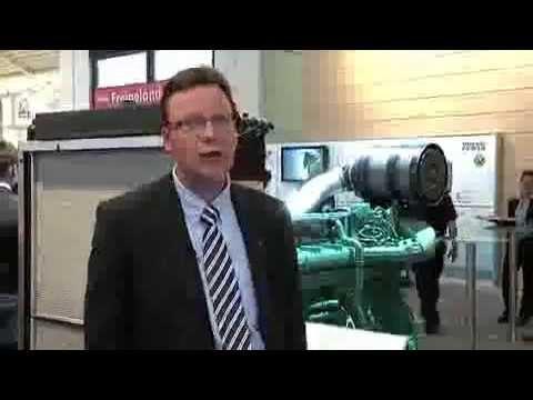 Volvo Penta at Bauma exhibition introducing the SCR.