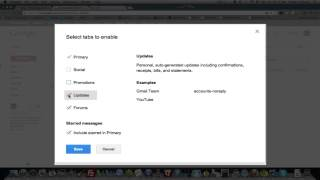 How To Disable Gmail Inbox Sorting   YouTube