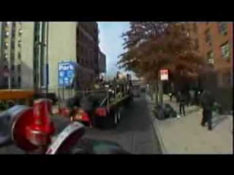 U2 - On a truck through New York City