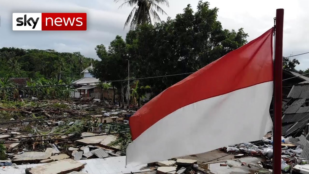 Indonesia tsunami: The search for survivors continues