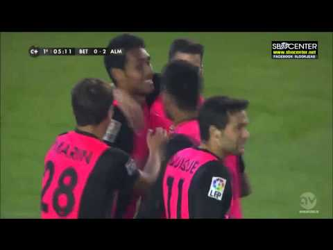 "Teerasil Dangda First Goal - UD Almeria ประตูแรกของ ""ธีรศิลป์ แดงดา"" ในอัลเมเรีย"