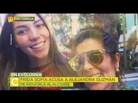 Frida Sofía ACUSA a su mamá  de haberla inducido al alcohol