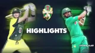 Australia vs Pakistan 2nd ODI 2017 Full Highlights - Pak v Aus 2nd ODI 15-Jan-2017