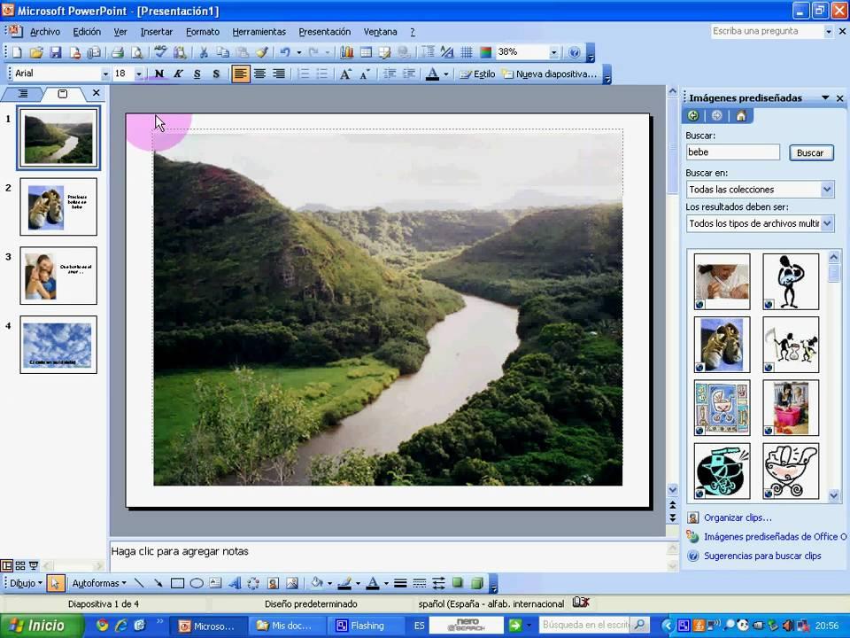 Cómo pasar las diapositivas de power point a imagenes