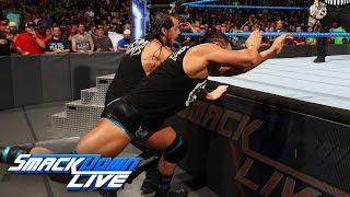 AJ Styles vs. Tye Dillinger - United States Championship Match: SmackDown LIVE, Aug. 29, 2017