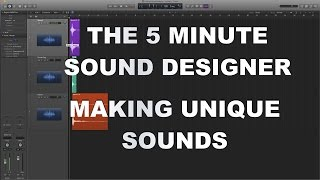Video Game Sound Design Tutorial - Making Unique Sound Effects