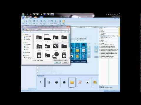 Samsung Corby Ii (create Your Own Theme) Tutorial video
