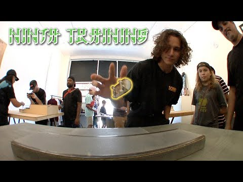 "The First Ever Fingerboard Ninja Training | ""Finga"" Training"