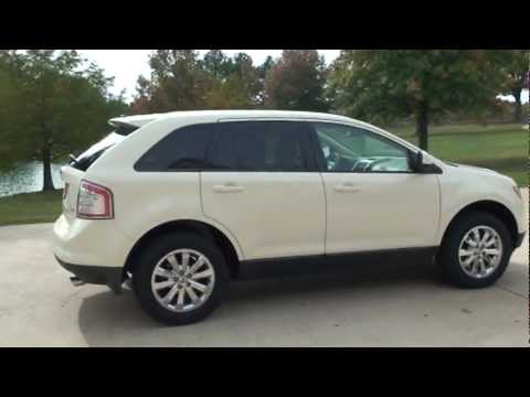 2007 Ford Edge Suv Sel Plus White Low Miles For Sale See