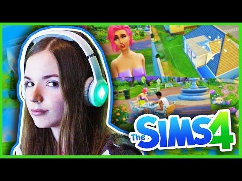 Играем В THE SIMS 4 // Эксклюзивный Gameplay и Влог Из EA