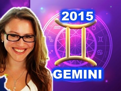 Gemini 2015 Horoscope With Astrolada video