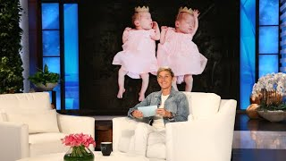 Ellen Rates Her Staff Members' New Babies