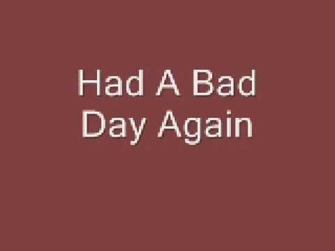 Fuel: Bad Day Lyrics