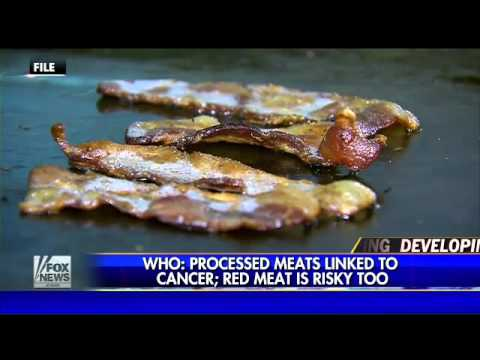 WHO finds link between processed meat and cancer risk