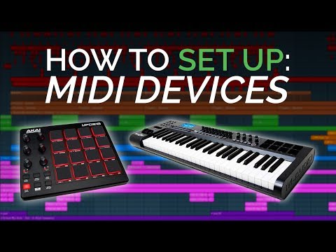 How To Set Up Your Midi Keyboard and Drumpad