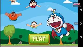 Trò chơi Doremon phiêu lưu đi cảnh đạp quái vật lụm vàng cu lỳ tv chơi game lồng tiếng vui nhộn