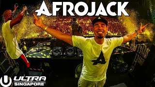 Afrojack DROPS ONLY Ultra Singapore 2018