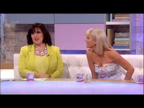 Sarah Harding - Loose Women - 21st March 2014