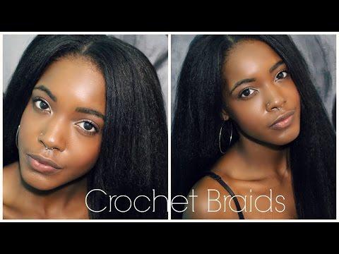 How To: Easy Natural Looking Vixen Crochet Braids + How To Straighten & Blend Kanekalon Hair