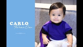 Carlo's 1st Birthday | Same Day Edit Video by Nice Print Photography