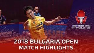 Yuya Oshima vs Tomas Mikutis | 2018 Bulgaria Open Highlights (Group)