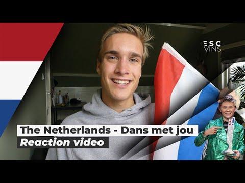 Reaction video Matheu  - Dans Met Jou The Netherlands Junioreurovision 2019