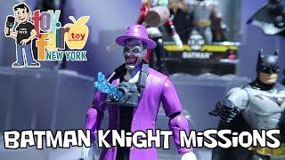 Batman Knight Missions Mattel Figure Display at New York Toy Fair 2018