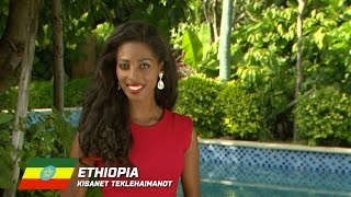 Miss World 2015 : ETHIOPIA, Kisanet Teklehaimanot - Contestant Profile
