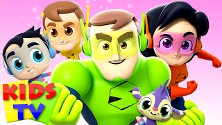 Finger Family | The Supremes Cartoons | Best Nursery Rhymes & Songs - Kids TV