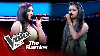 The Battles : Kavindya Lakmuthu V Aksha Sandali | Payana Ira Pana | The Voice Teen Sri Lanka