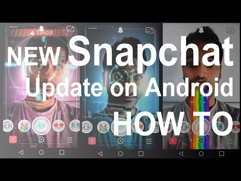How to use the new Snapchat update in Android September 2015