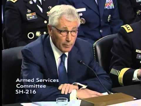 Inhofe Questions Secretary of Defense Hagel and General Dempsey on ISIS