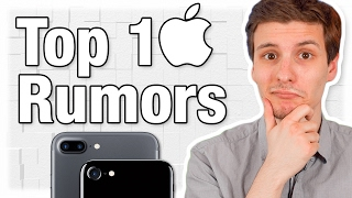"""Top 10 Best iPhone 8 Rumors! (Aka iPhone 7S or """"iPhone X"""")"""