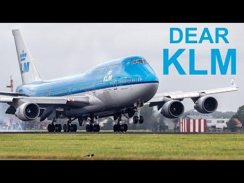 Dear KLM - A Plea from Calgary Plane Spotters á´´á´°