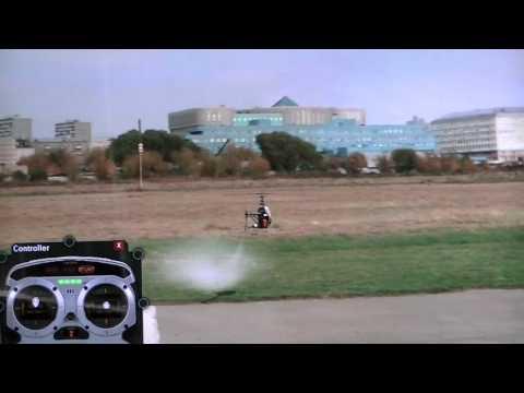 Rc-heli flight lesson 1...learning the basics (freddys flight academy)