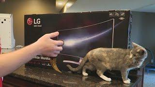"Jahova's New LAN Setup! HUGE New Monitor! (LG Curved 34"" UC98 21:9 Ultrawide Gaming Monitor Review)"