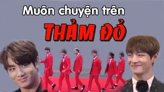 [BTS funny moments #8] Thảm đỏ ly kì truyện =))))