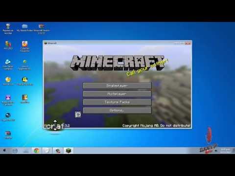 TUTORIAL | MINECRAFT | ¿Cómo instalar Minecraft Versión 1.3.2 & Actualizable Totalmente Gratis?