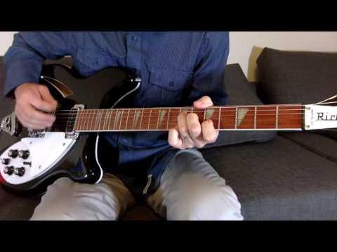 Radio Free Europe guitar lesson R.E.M.