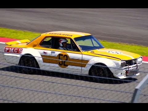 Skyline 2000gt R Race Car Hakosuka Youtube